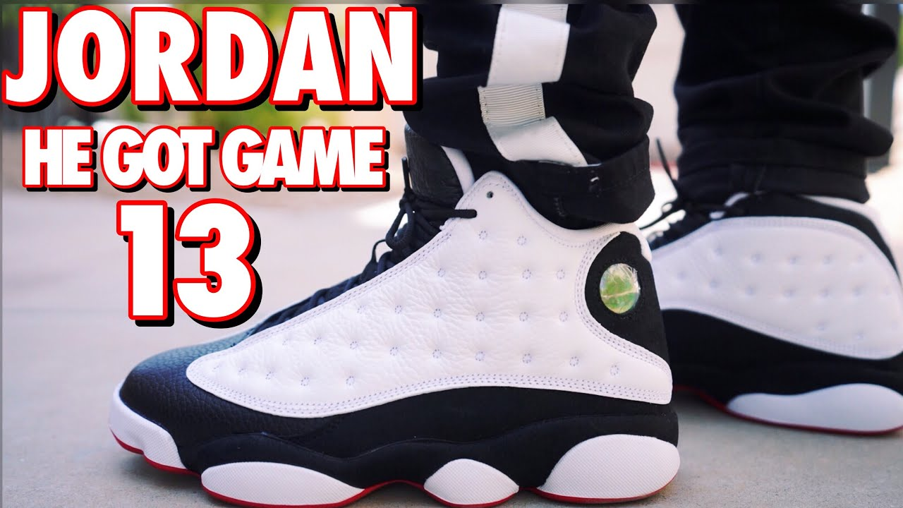 "low priced 79f49 4339e 2018 JORDAN 13 ""HE GOT GAME"" REVIEW AND ON FOOT !!!"