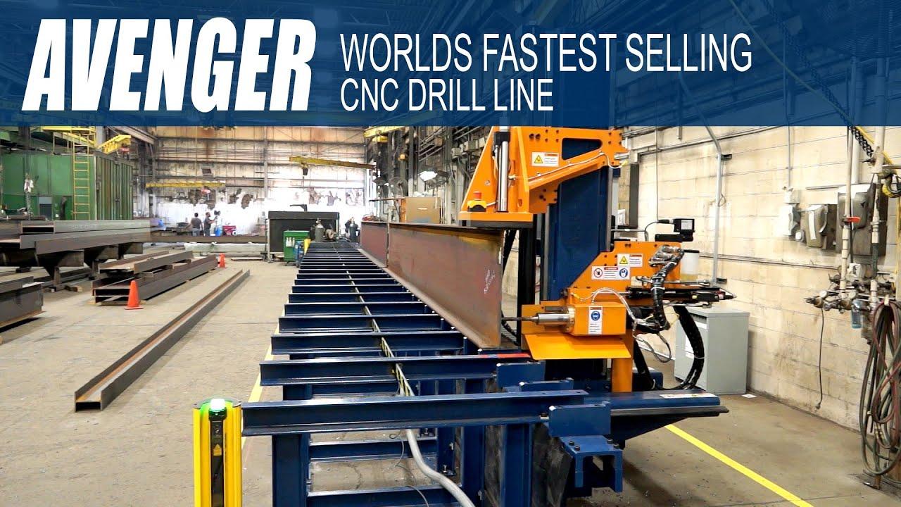 Ocean Avenger Cnc Beam Drill Line Worlds Fastest Selling