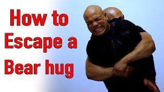 How to Escape a bear hug