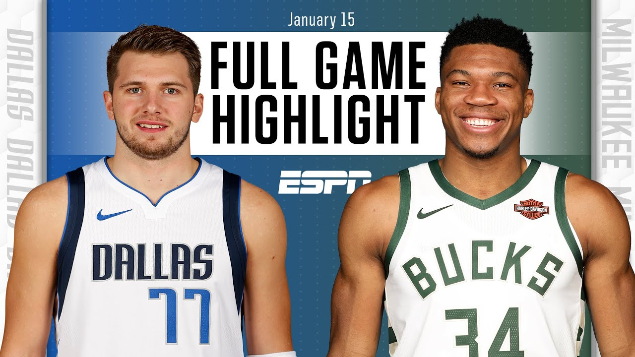 Mavericks vs. Bucks - Game Recap - January 15, 2021 - ESPN