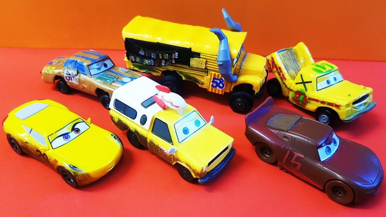 cars 3 disney cars 3 movie figurines disney pixar cars 3 crazy 8s figurine set youtube. Black Bedroom Furniture Sets. Home Design Ideas