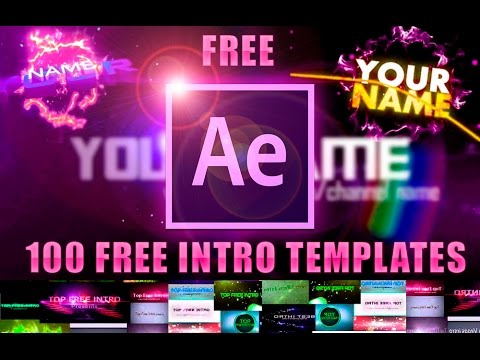 Top 100 FREE Intro Templates After Effects   100 Intros GRATIS 2016