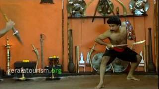 Kalarippayattu, Martial art - Fighting with weapons