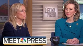 Reps. Comstock & Dingell On Sexual Harassment In Government (Full) | Meet The Press | NBC News