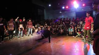 GOOD FOOT CREW vs The Last Samurai FINAL BREAK 5 on 5 [FOUNDNATION 12th anniversary]