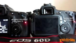 Kingston microSDXC 64GB Class 10 Review - Write Speed Test