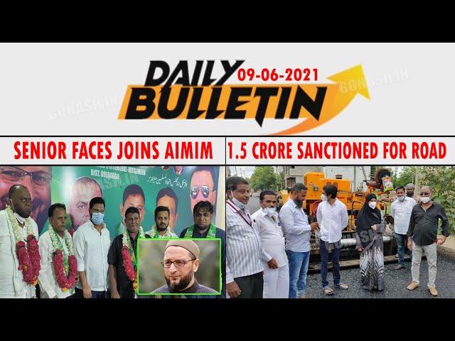 GLB | DAILY BULLETIN 09 JUNE, 2021 GULBARGA
