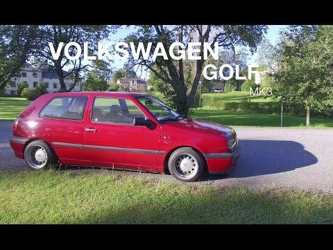 VW Golf MK3 Stance/Clean! Banded Steelies!