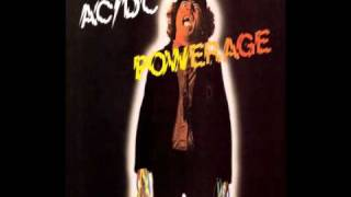 AC/DC Powerage - Gimme A Bullet Lyrics: She had the word Had the wa...