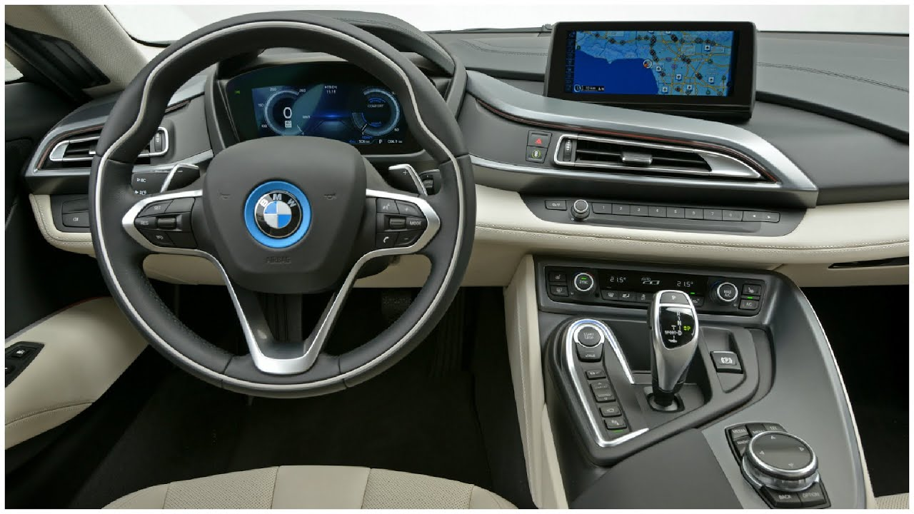 2015 Bmw I8 Interior Youtube