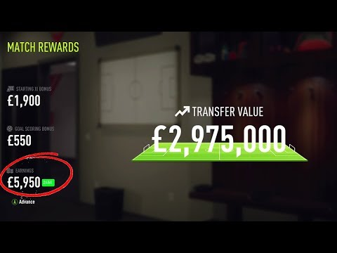 WHERE DID ALL MY MONEY GO ?? 😱 FIFA 18 THE JOURNEY