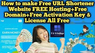 how to make url shortener website free |url shortener website kaise banaye| new method 2019