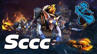 Sccc Mid Meepo | Dota 2 Pro Gameplay