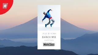 DANCE MIX с Андреем Гнедашем 1 мая 2021 Онлайн тренировки World Class