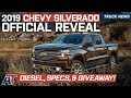 2019 Chevrolet Silverado Fully Revealed and Explained - New Engines, Specs, & Trim Levels