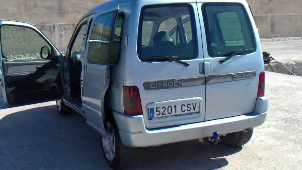 2004 citroen 2 0hdi berlingo multispace for sale in spain youtube. Black Bedroom Furniture Sets. Home Design Ideas