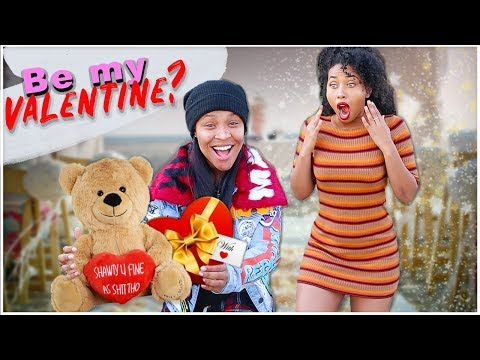 Asking My BFF To Be My Valentines! *She CRIED*(EPIC SURPRISE)