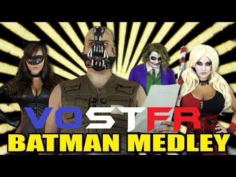 Batman Medley - One Direction Justin Bieber Lady Gaga FloRida Carly Rae Jepsen Parody VOSTFR