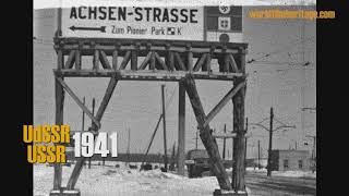 1941 Germany invades USSR,  Urkraine, Donezk (kro11)