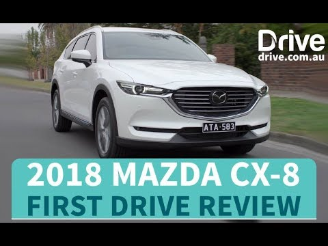 2018 Mazda CX-8 First Drive Review | Drive.com.au