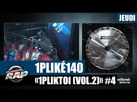 Youtube: Planète Rap – 1PLIKÉ140«1PLIKTOI (Vol.2)» avec Vitoo, K2, DLF et Mapess #Jeudi