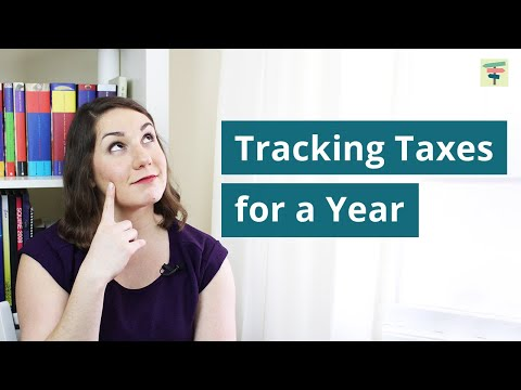 I Tracked My Taxes For A Year