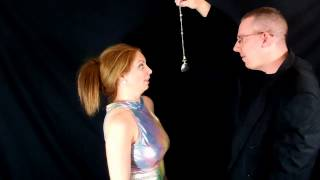 Pocketwatch Backfires with beautiful brunette