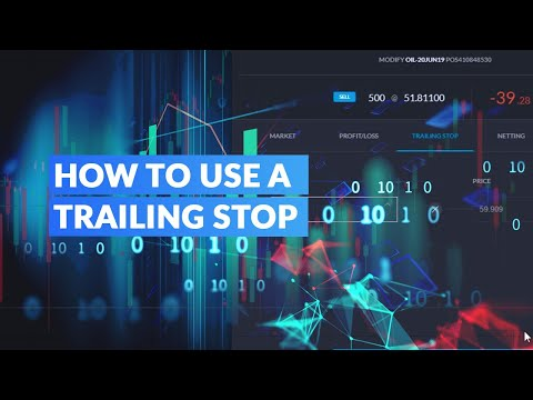 How to Use a Trailing Stop