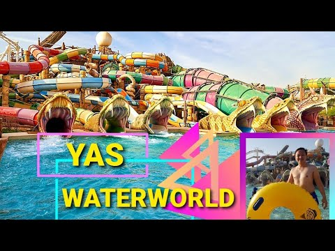 The Best Water Park in the World! | Yas Waterworld