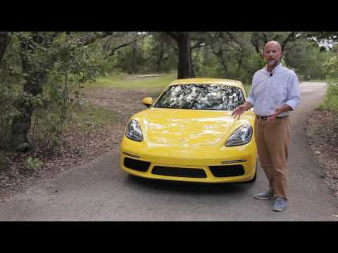2017 Porsche 718 Boxster and Cayman first drive video