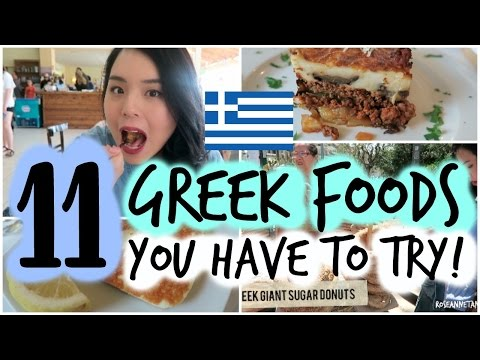 11 Greek Foods You Have to Try!
