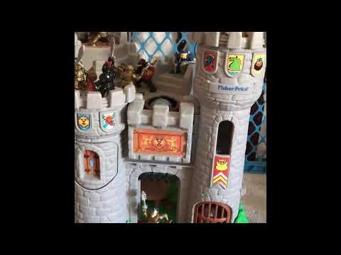 1994 Fisher Price Great Adventures Castle