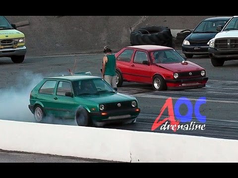 ★ BCF Volkswagen Jetta VS GolF SANAIR DRAG ★