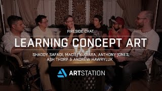 Fireside chat: Learning concept art and getting into the industry