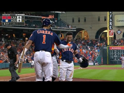 Altuve crushes his second homer of the game