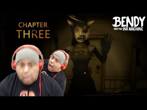 BABYGIRL CRAZY AF Y'ALL! [BENDY AND THE INK MACHINE: CHAPTER 3]