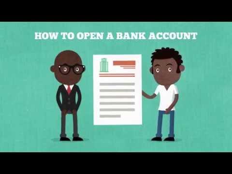 Basic Banking Opening A Bank Account Youtube