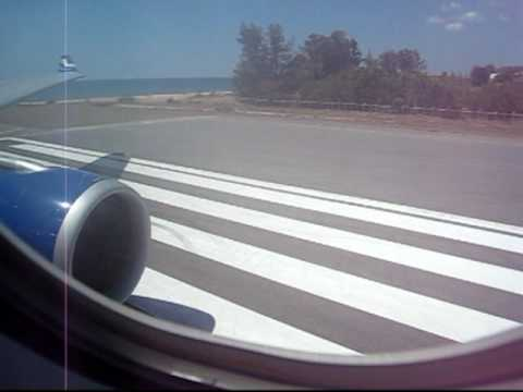 Finnair Airbus 330-300 takeoff from Phuket