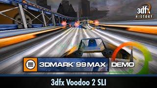3dfx Voodoo 2 SLI - 3DMark 99 MAX - Demo
