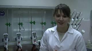 Відкрий урок з хімії на РАЕС для учнів школи №3 м. Вараш