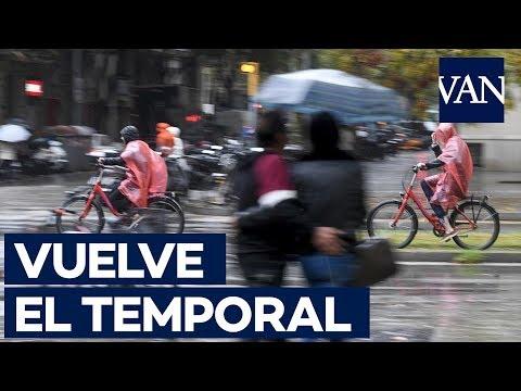 🌧 Vuelve el temporal: 9 provincias en alerta por fuertes lluvias  (Valencia, Barcelona...)