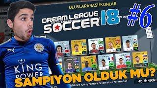 Uluslararası İkonlar Geldi ! Şampiyon Olduk Mu ? Dream League Soccer 2018 Bölüm 6