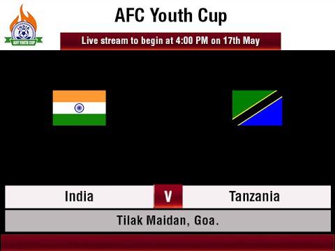 #AIFFYouthCup - India vs Tanzania