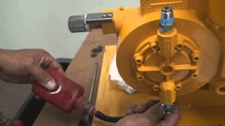 Bleeding Air from the Hydraulic Side of a Diaphragm Metering Pump
