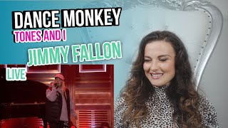Vocal Coach Reacts To Tones And I Dance Monkey Live MP3