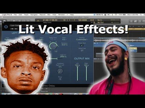 Post Malone Ft. 21 Savage- Rockstar Vocal Effects!