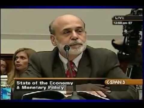 WHERE'S half a trillion dollars, Ben? Grayson hammers Bernanke (07/21/09)