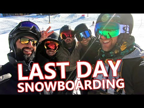 Last Day Snowboarding at Mammoth Mountain Vlog
