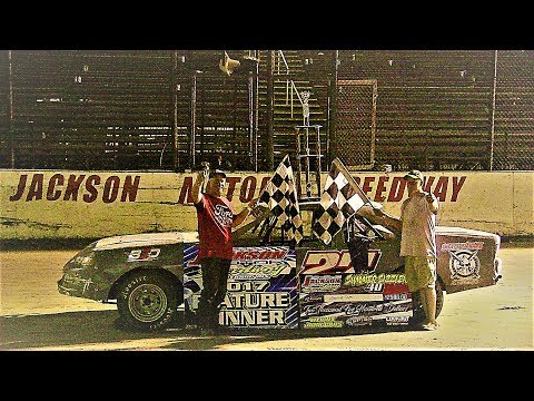 "Factory Stocks Feature ""SUMMER SIZZLER 40"" 6-10-17 Jackson Motor Speedway"