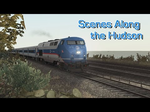Train Simulator 2019 - Scenes Along the Hudson Line |